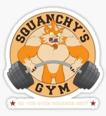 Squanchy's Gym Sticker