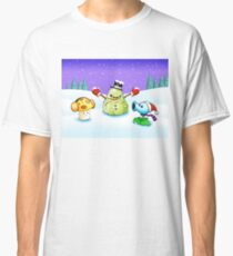 PLANTS VS ZOMBIES CHRISTMAS 7 Classic T-Shirt