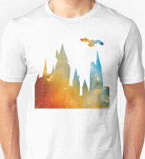 Castle with Owl Unisex T-Shirt