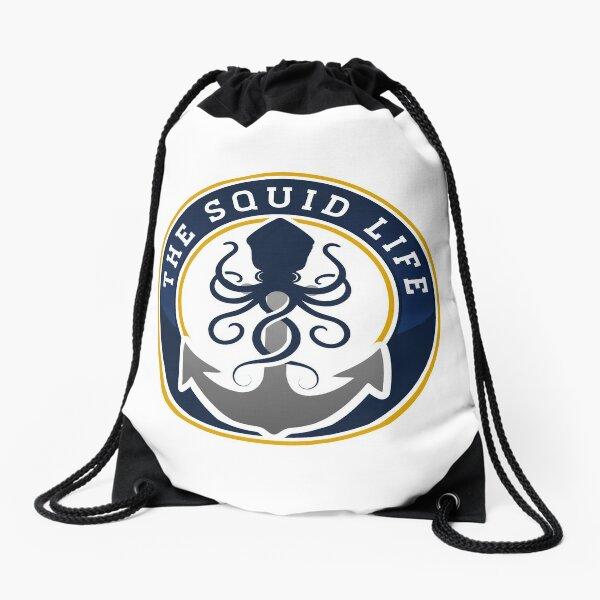 The Squid Life Drawstring Bag