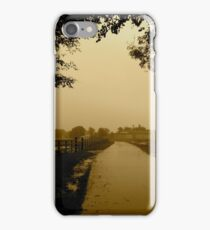 The Walk Home - Castle Marter, Ireland iPhone Case/Skin