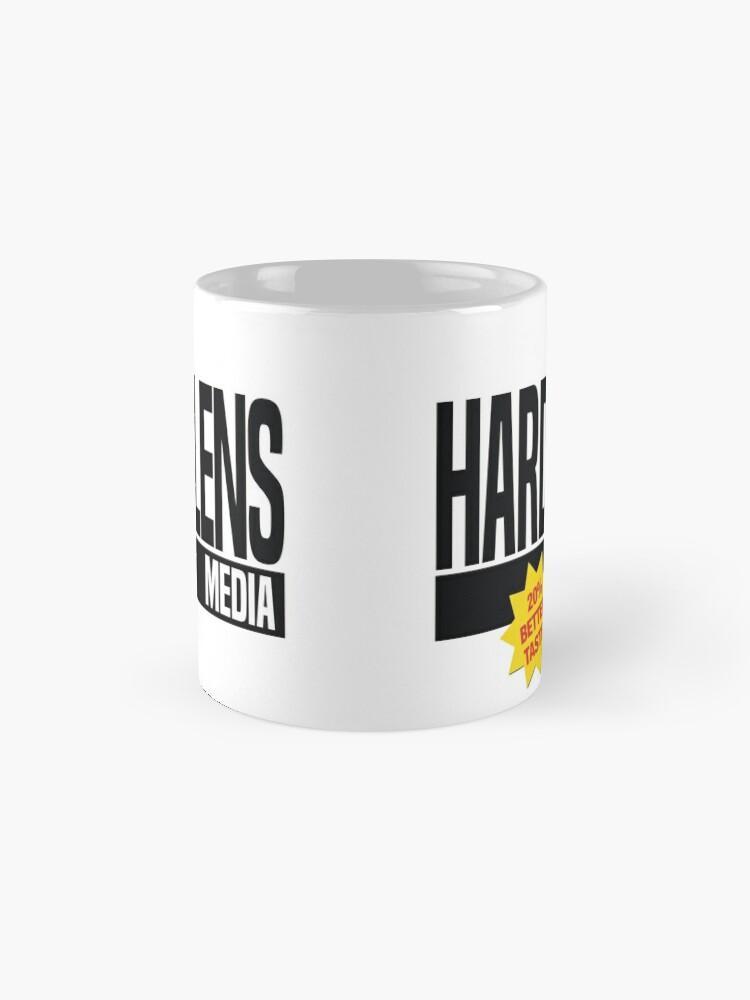 Alternate view of Hard Lens Media Logo Mug