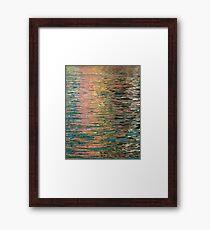 Vernazza Reflected Framed Print