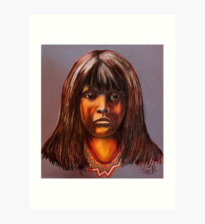 Lakota Child Art Print