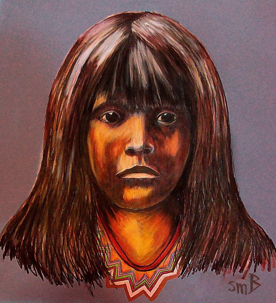 Lakota Child by Susan McKenzie Bergstrom