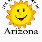 SUNSHINE SMILEY ARIZONA FACE CUTE HAND DRAWN SMILE POPULAR STICKERS TOP DECAL SUN by MyHandmadeSigns