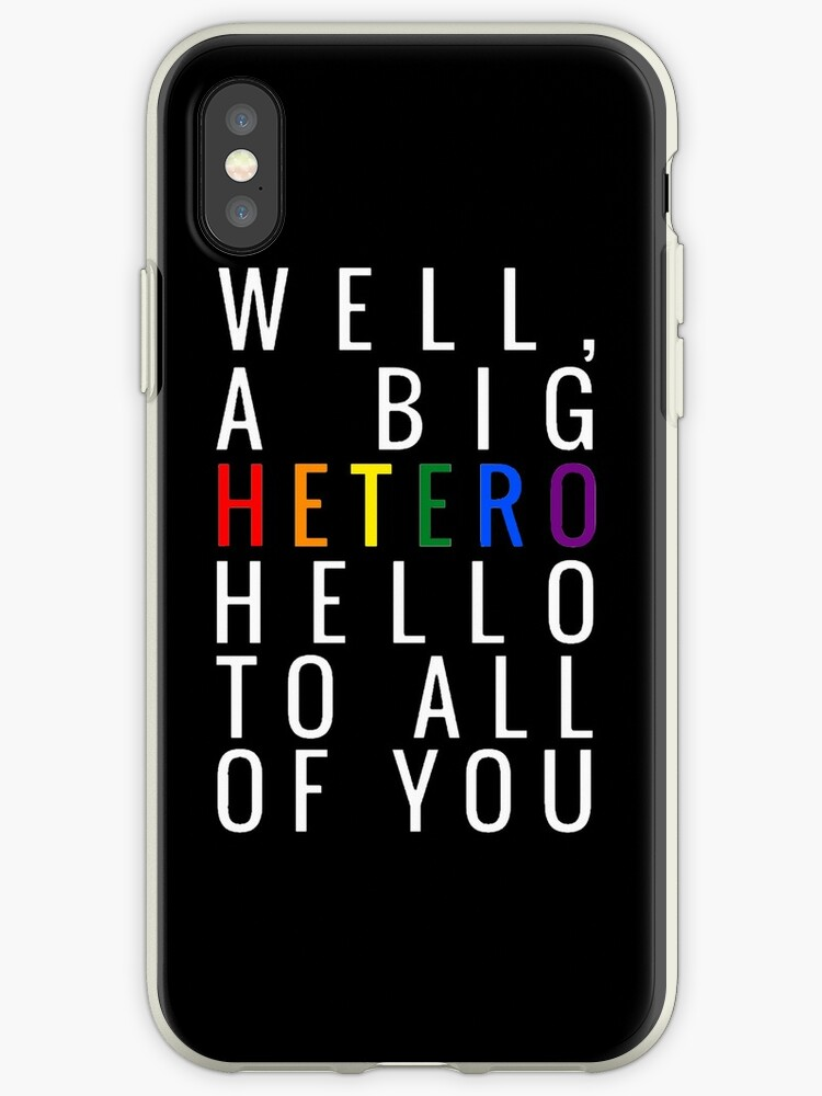 the latest 099ae 4f94b 'OITNB - A HETERO HELLO' iPhone Case by heyitstempest