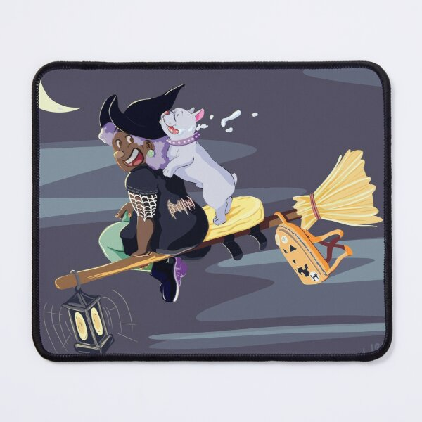 Wild Witchy Ride Mouse Pad