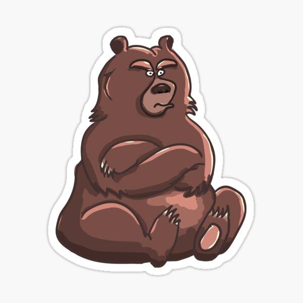 Grumpy Bear Sticker