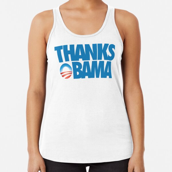Thanks Obama Racerback Tank Top