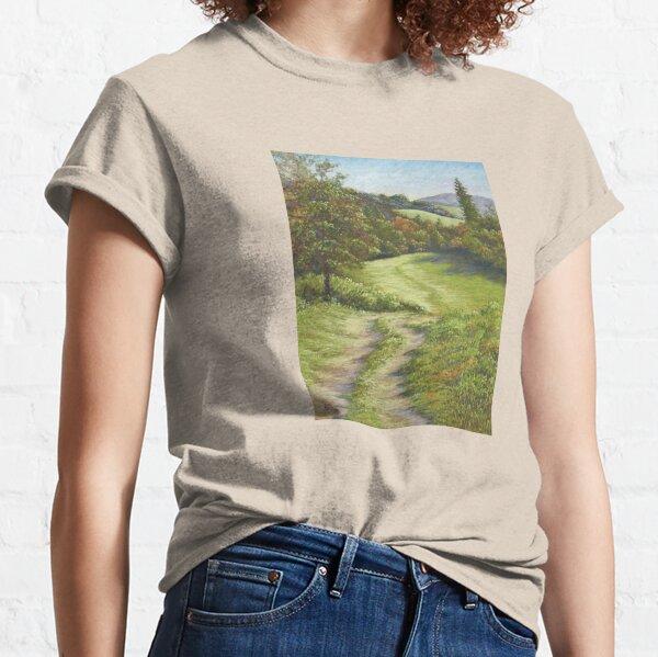 Autumn Walk, Surrey Hills in Pastel Classic T-Shirt