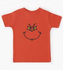 Grinch Face Kids Clothes