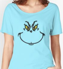 Grinch Face Women's Relaxed Fit T-Shirt