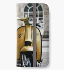 Yellow Lambretta GP iPhone Wallet/Case/Skin
