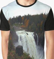 Snoqualmie Falls, Washington Graphic T-Shirt