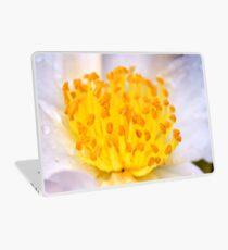 macro flowers Laptop Skin