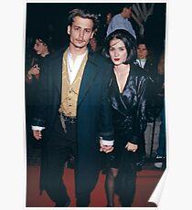 Johnny Depp und Winona Ryder Poster