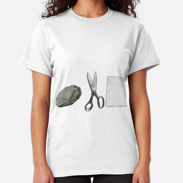 Rock Scissors Paper Classic T-Shirt