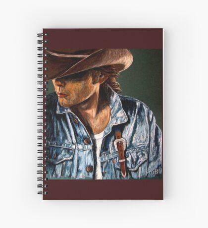 Just Another Cowboy Spiral Notebook