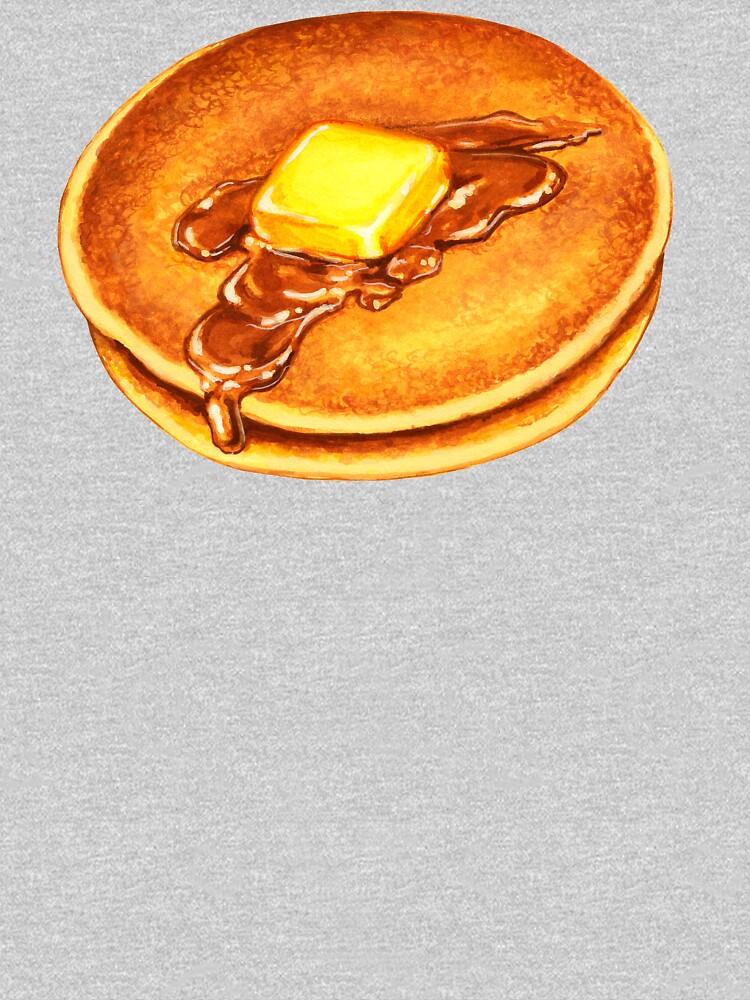 Pancakes Pattern - Blue by KellyGilleran