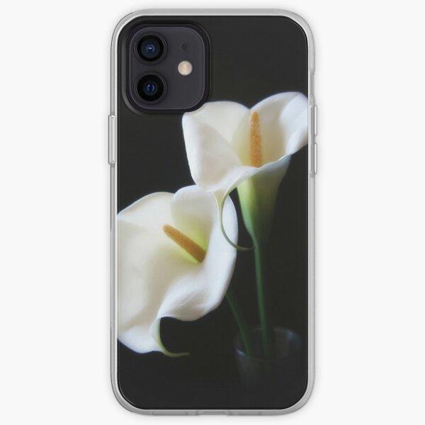 Elegant Calla Lily Flowers 13 iPhone Soft Case