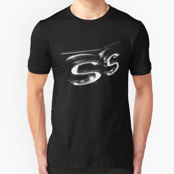 camaro ss, black shirt Slim Fit T-Shirt