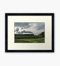 Flying Scotsman. Framed Print