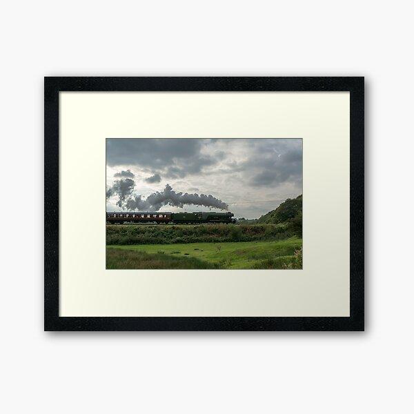 Flying Scotsman. Framed Art Print