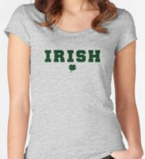 IRISH - The Departed (Frank Costello - Jack Nicholson) Women's Fitted Scoop T-Shirt