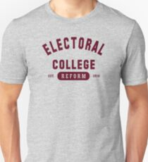 Electoral College Athletic T Shirt