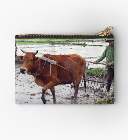 Working the Rice Fields - North Vietnam Studio Pouch