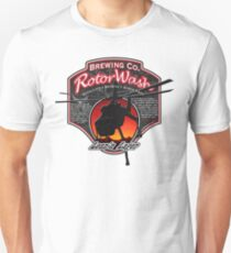 RotorWash Brewing Co. - Lean'n Lager Skycrane Unisex T-Shirt
