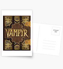 Vampyr Book Postcards