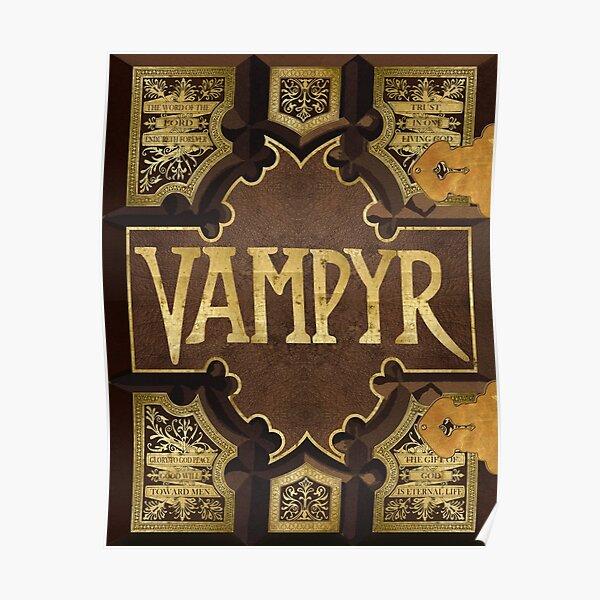 Vampyr Book Poster