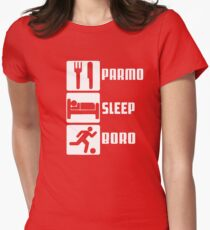 PARMO SLEEP BORO Women's Fitted T-Shirt