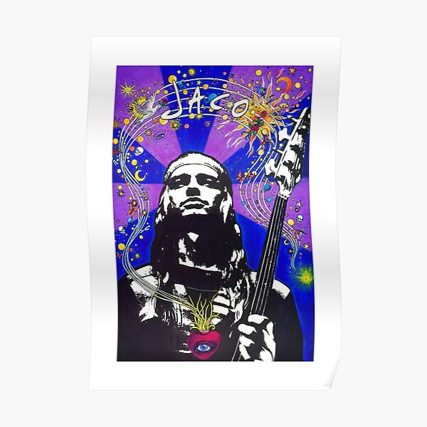 Jaco Pastorius Record Store Day Poster Poster