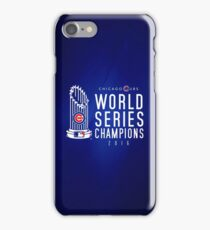 Chicago Cubs Champions 3 iPhone Case/Skin