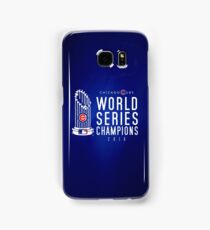 Chicago Cubs Champions 3 Samsung Galaxy Case/Skin