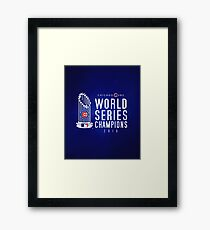 Chicago Cubs Champions 3 Framed Print