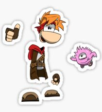 Rayman Adventures Sticker