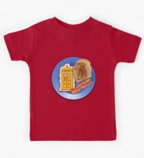 Whovian Breakfast Kids Clothes