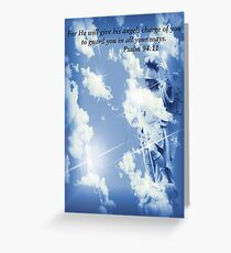 An Angel To Guard You Greeting Card