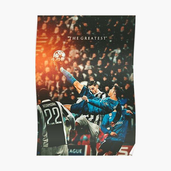 Ronaldo Bicycle Kick Skills Greatest, Ronaldo Gifts, Ronaldo Best Selling , Ronaldo Top Items  Poster