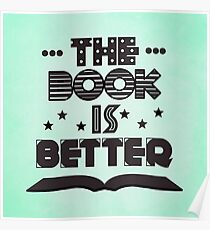 The Book Is Better Poster