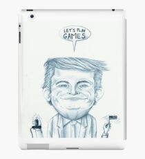 let's play games iPad Case/Skin