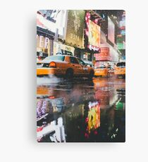 Taxi in NYC Canvas Print
