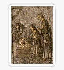 The Birth of Christ Sticker