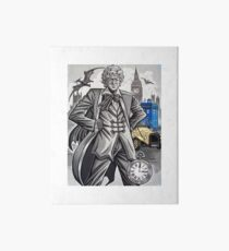 The Third Doctor Art Board