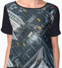 Taxi all over town Women's Chiffon Top