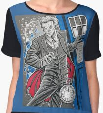 "The Twelfth Doctor (""All Thirteen!"") Chiffon Top"
